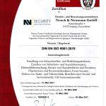 DIN EN ISO 9001 NNGmbH